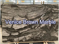 Venice Brown Marble Slabs