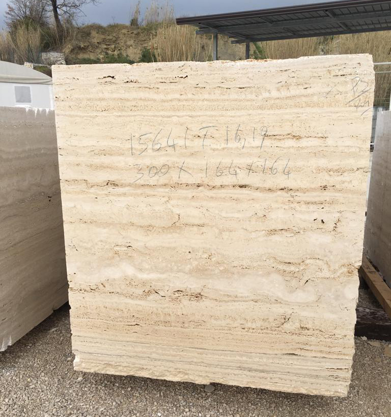 Roman Travertine Blocks Classico Light