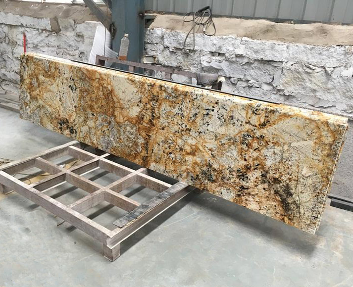 Delicatus Gold Granite Bar Tops
