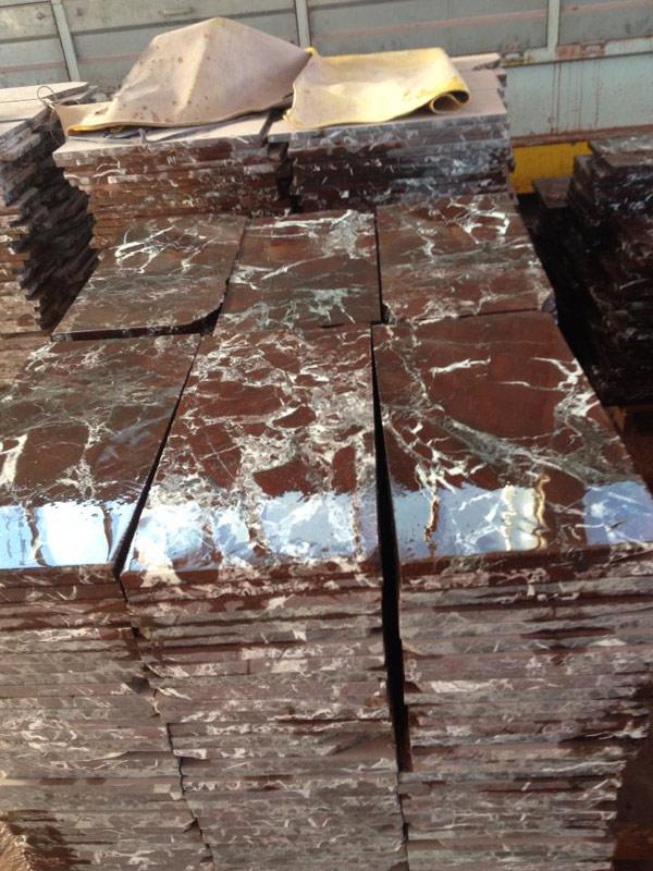 Rosso Levanto Marble Tiles Facebook Stone Photos