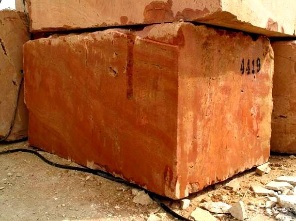 Amarillo Fosil Spain Stone Quarry