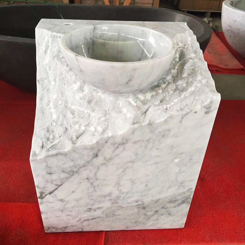 White Marble Sink Basin