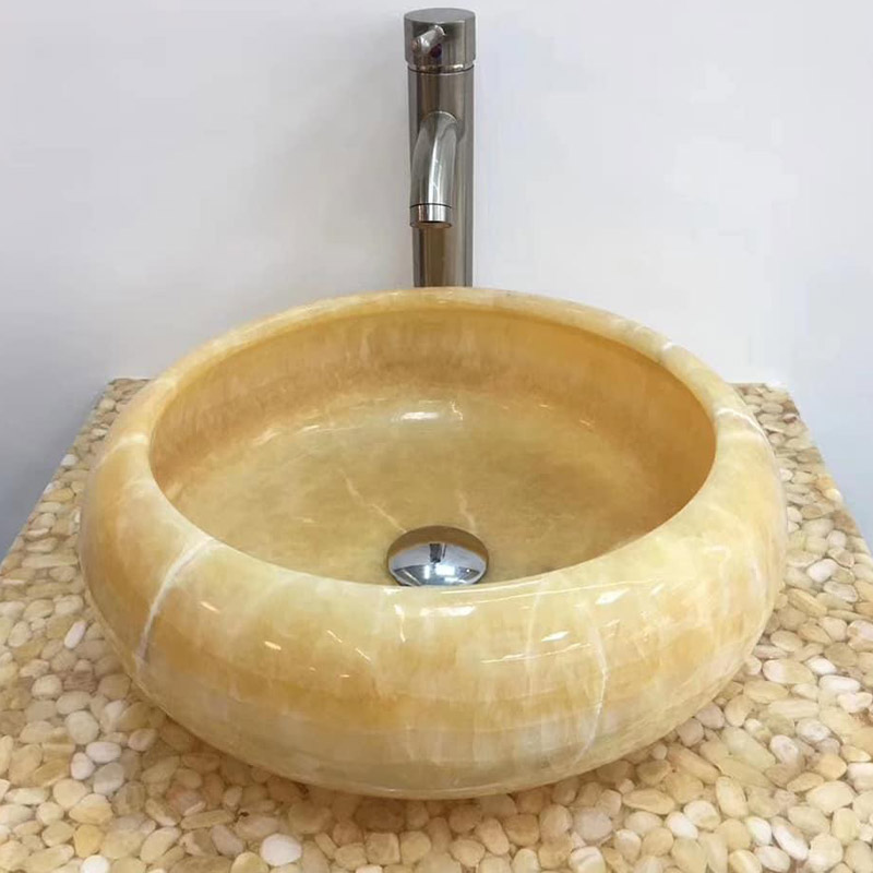 Honey Onyx Sinks
