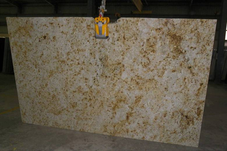 Colonial Cream Granite Slab India Granite Colonial Cream