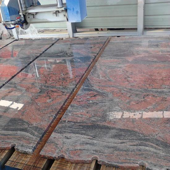 multicolor red granite stone granite tile supplie