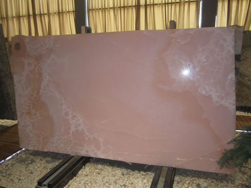 Purple Onyx Slabs : Blue onyx slab