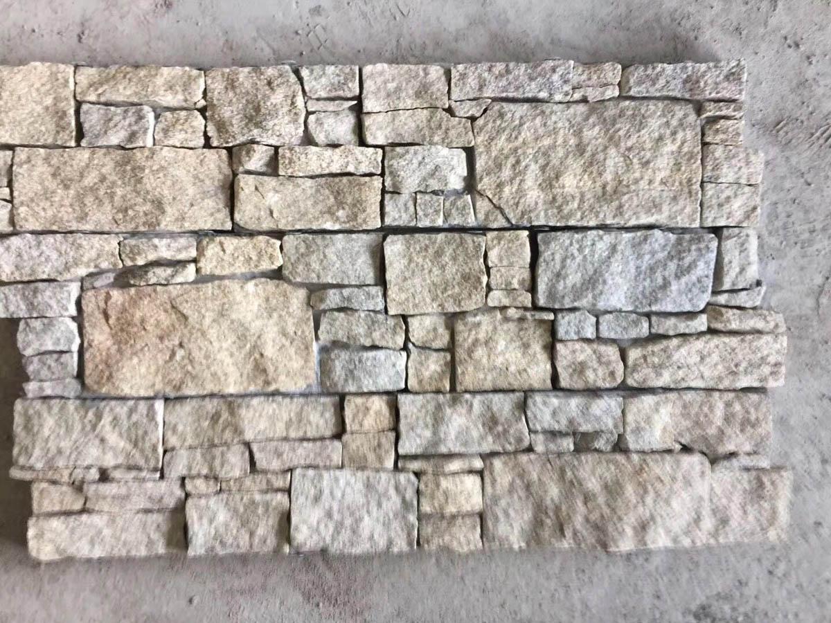 Natural Quartzite Stone Exterior Wall Cladding