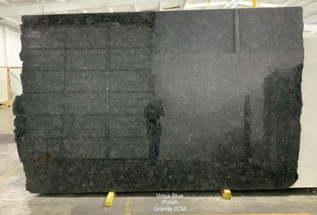 Volga Blue Granite Slabs Polished Ukraine Granite Slabs For Kitchen Countertops Granite Slabs