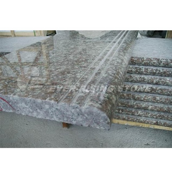 Majestice Mauve Granite for Stair Tile