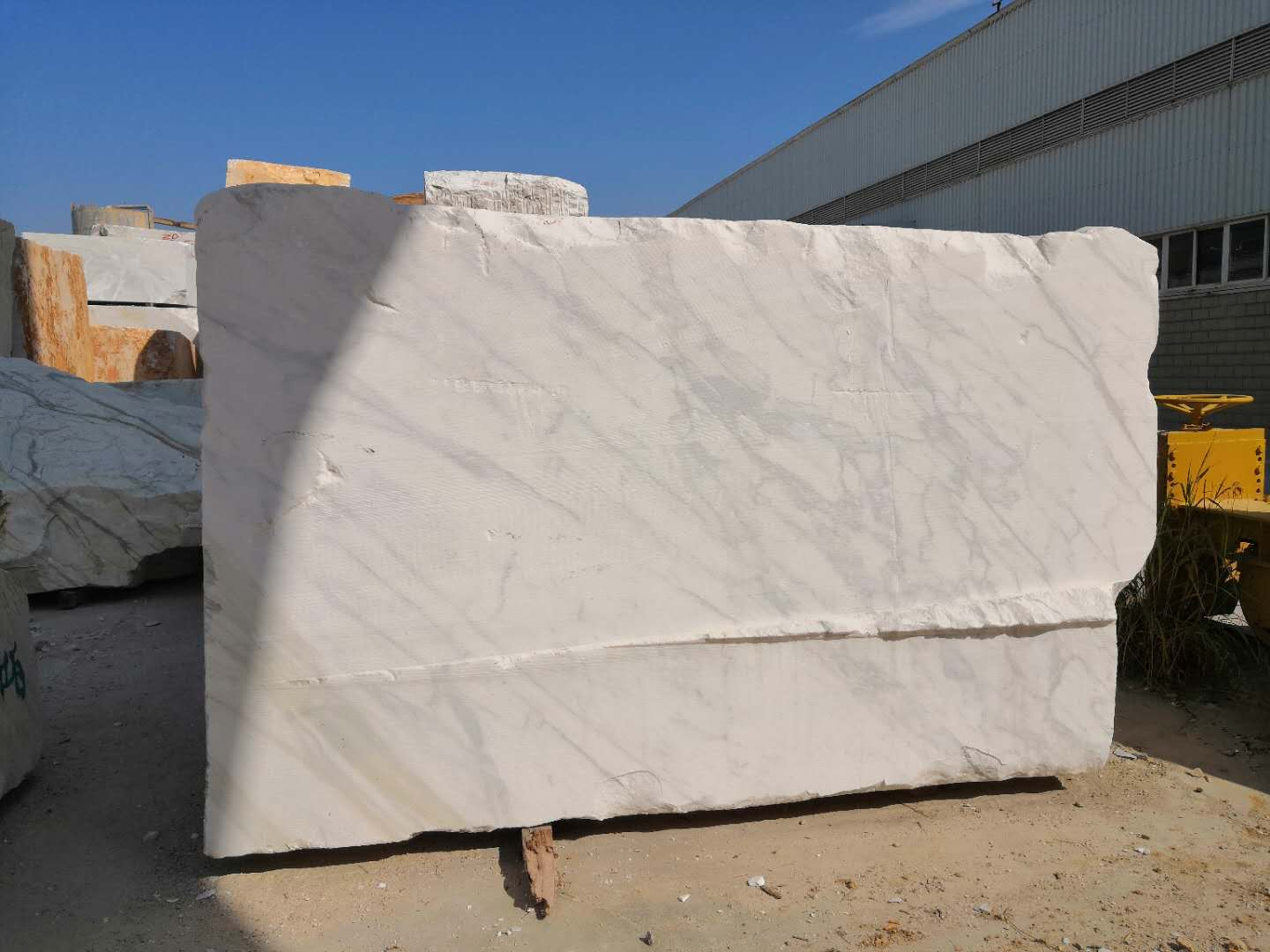 Big Calacatta White Marble Blocks with Competitive Price