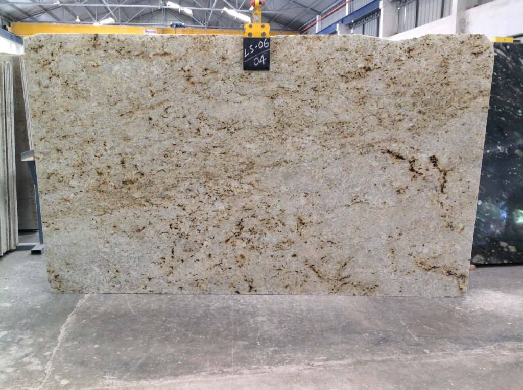 Colonial Gold Granite Slabs