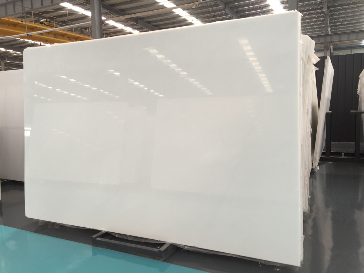 Chinese White Jade Marble Slabs Top Quality