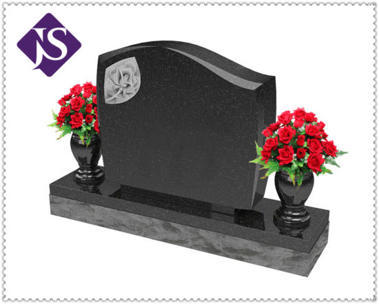 Hot Selling Cheap Price For Black Granite Headstonetombstonemonument Granite Tombstone
