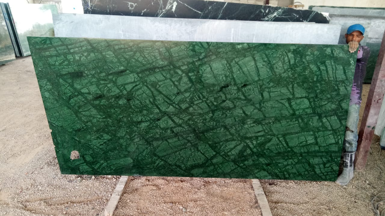 Green Marble Polished Indian Green Slabs Marble Slabs