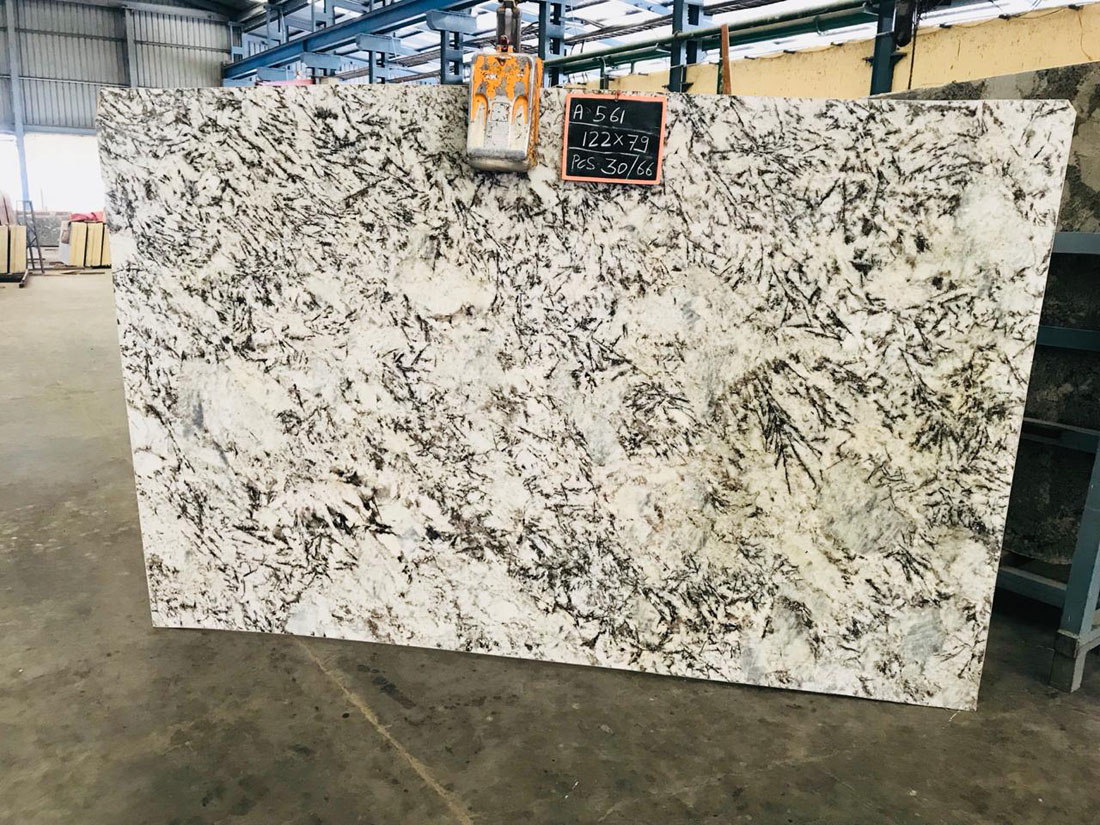 Alaska Granite Slabs Indian White Granite Slabs