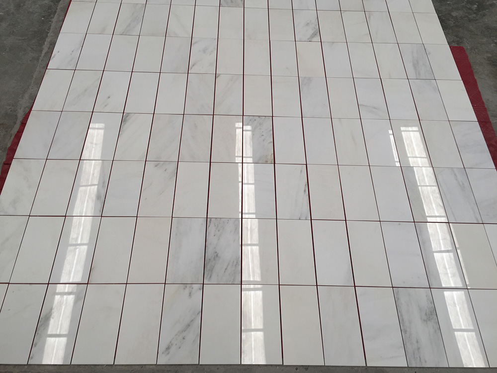 China White Jade Marble Tiles 12 24