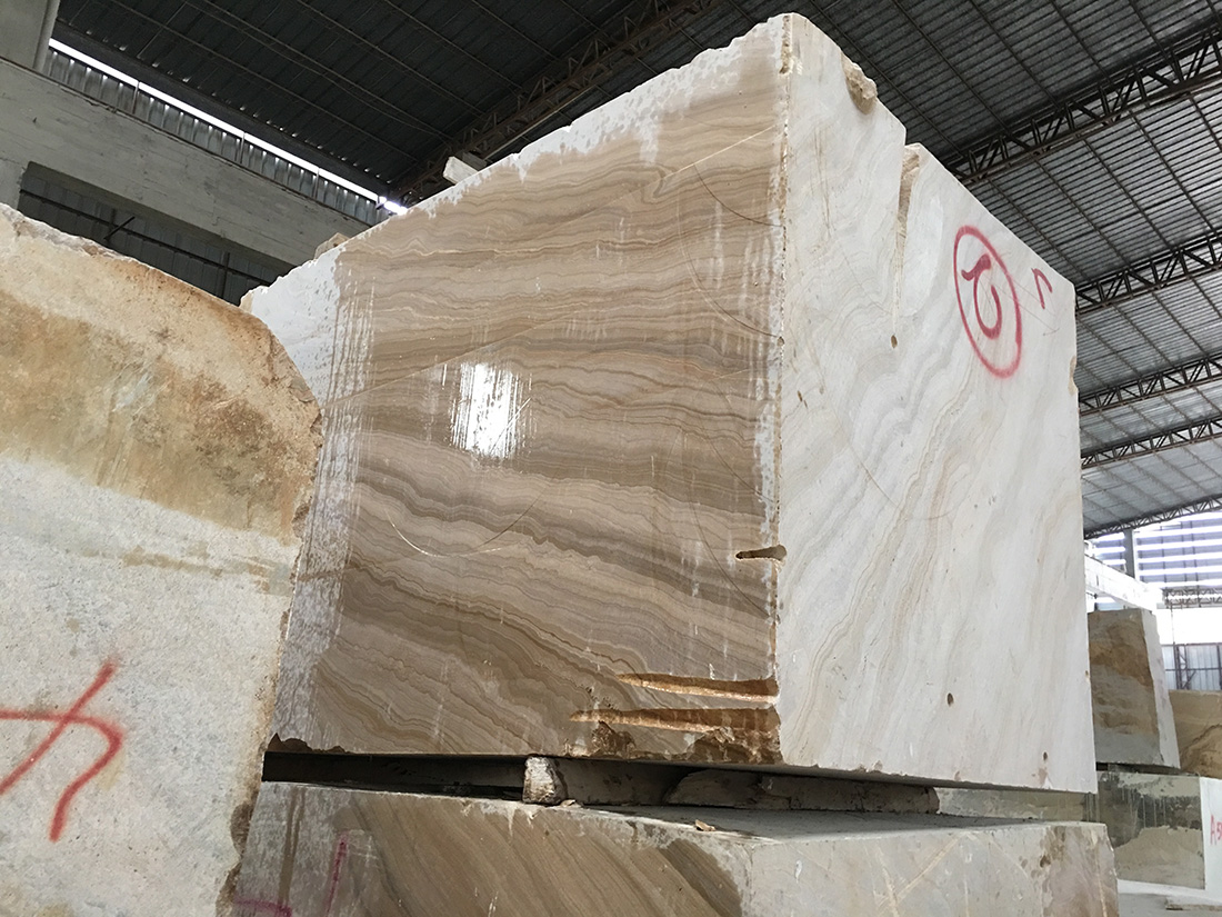 Imperial Wood Marble Blocks
