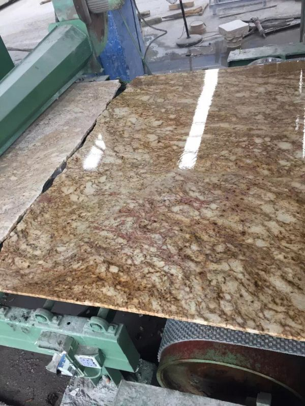 Lowest Price Imperial Gold Dust Granite Slabs