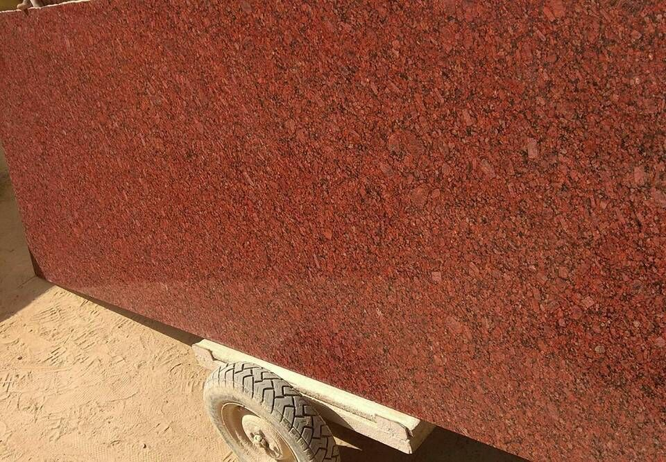 Imperial Red Granite Tiles Slabs India Red Polished Granite