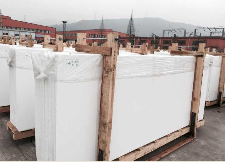 nano crystallized glass white big slab for floor and wall