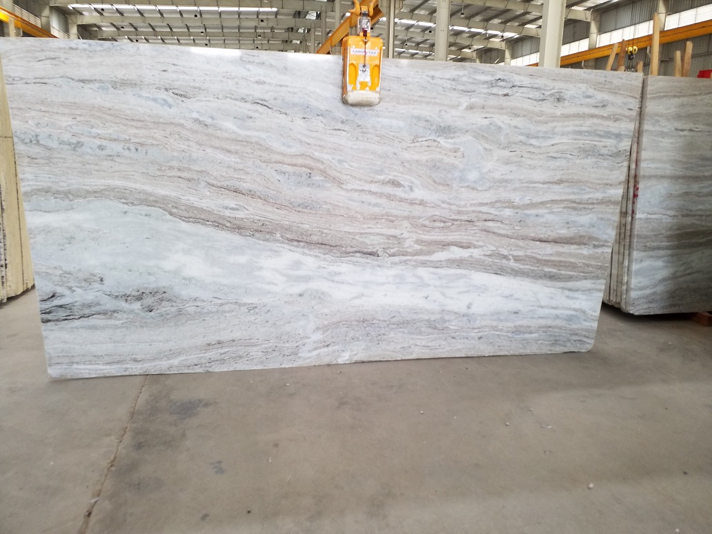 Fantasy Brown Polished Marble Slabs