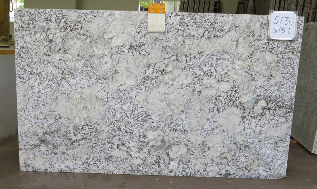 White Glimer 3cm Thick  Ready In Stock