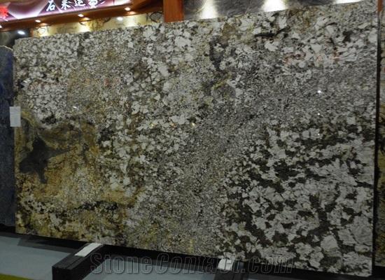 Branco Fortaleza Granite Kitchen Countertop