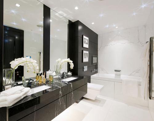 Black Marquina Marble Vanity Tops