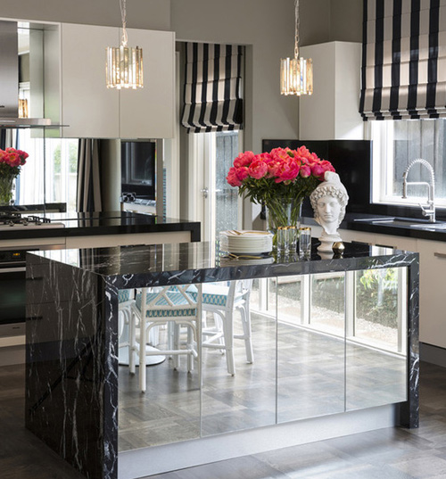 Black Marquina Kitchen Tops