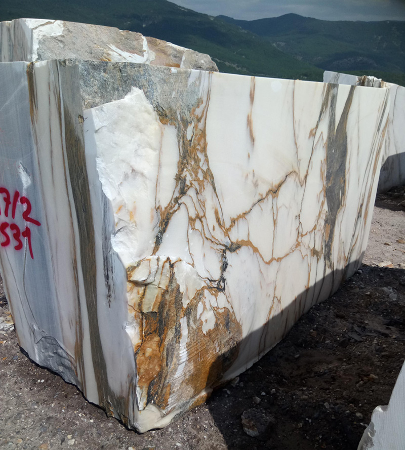 Calacata Gold Marble Blocks