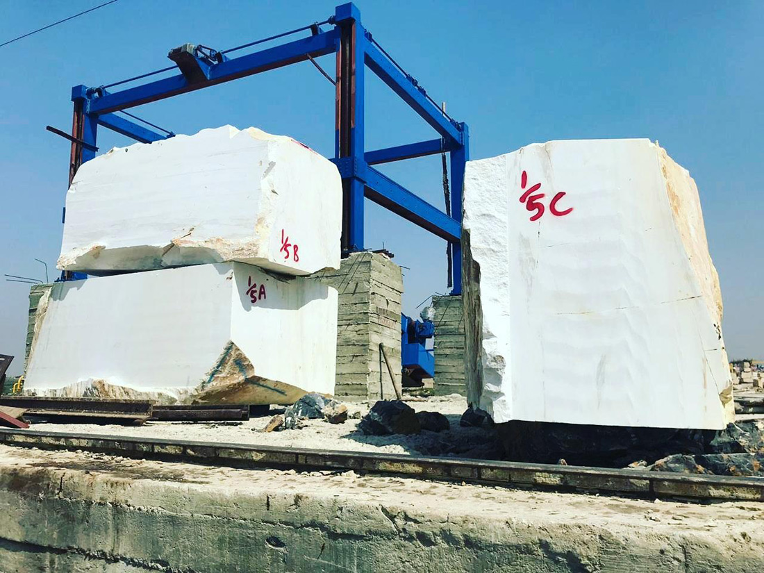 Super White Marble Blocks