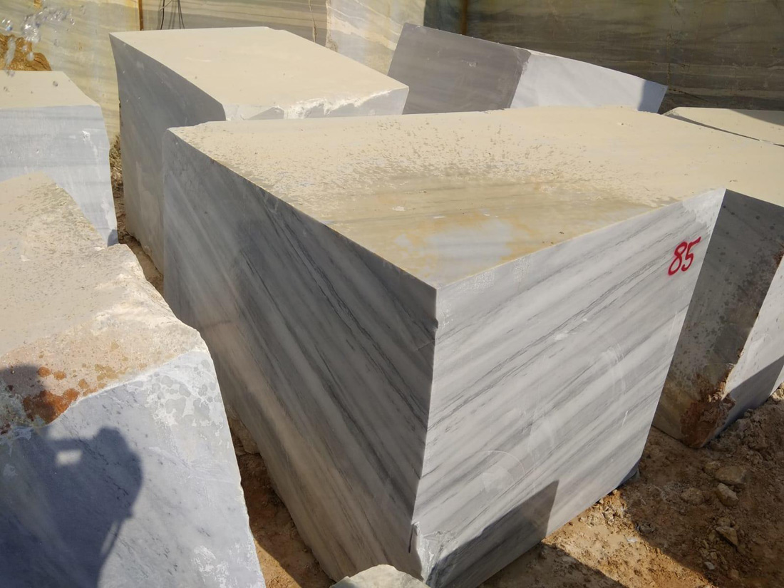 Paulino White Marble Blocks