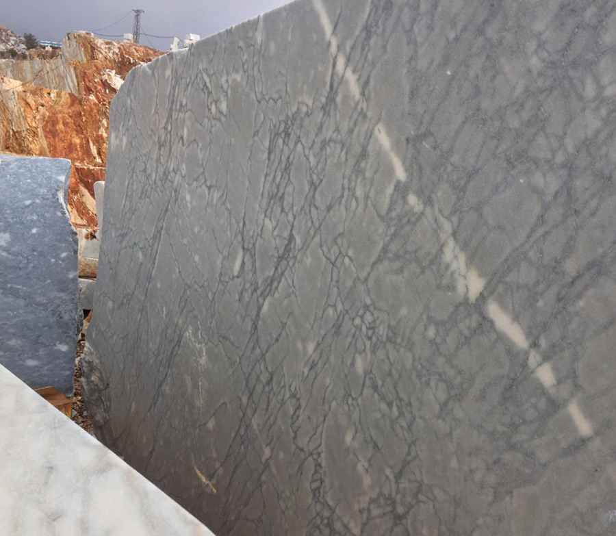 Spider Grey Marble Blocks