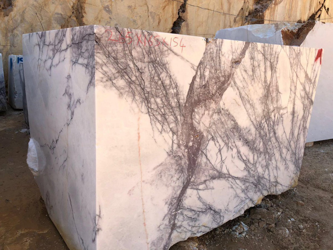 Turkey Lilac Marble Blocks