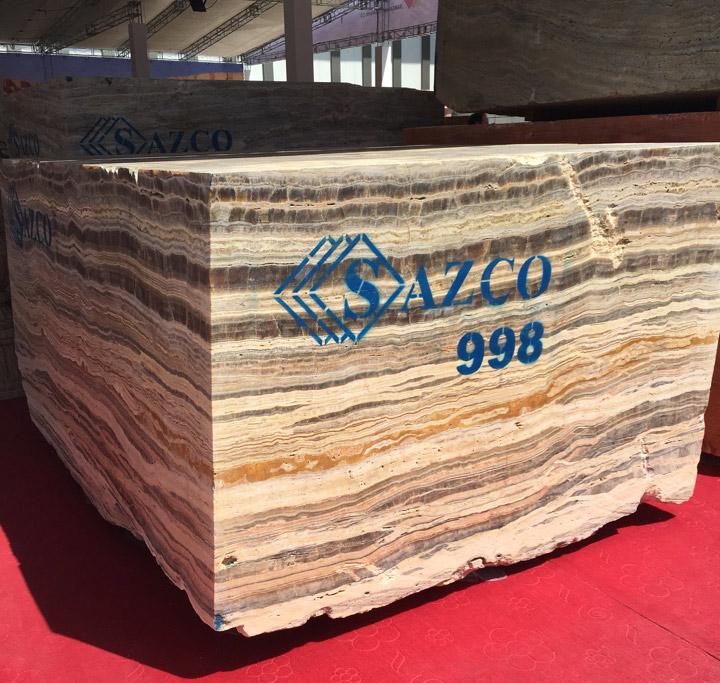 Silver Onyx Blocks from Iran