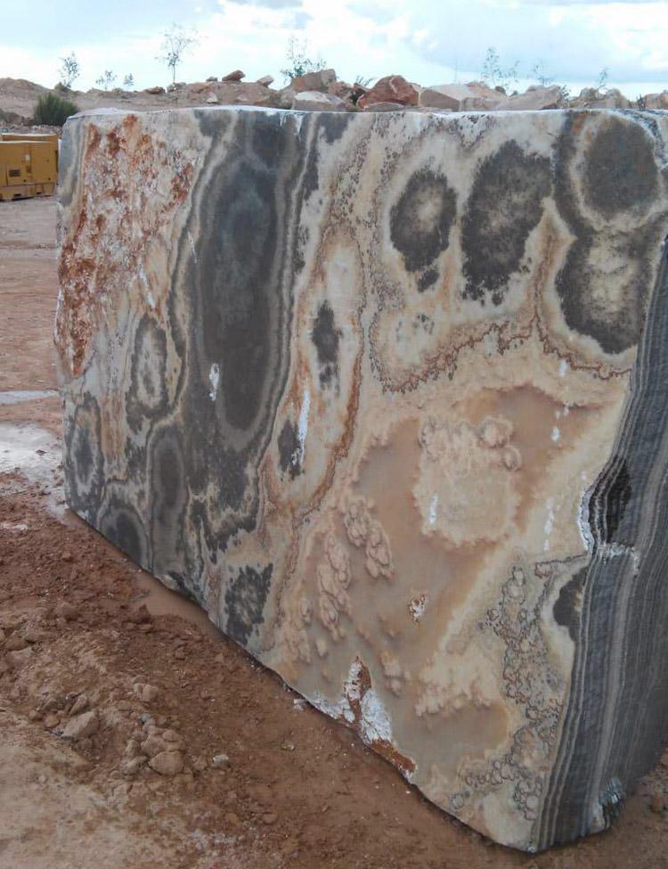 Black Onyx Blocks from Mexico Onyx Quarry