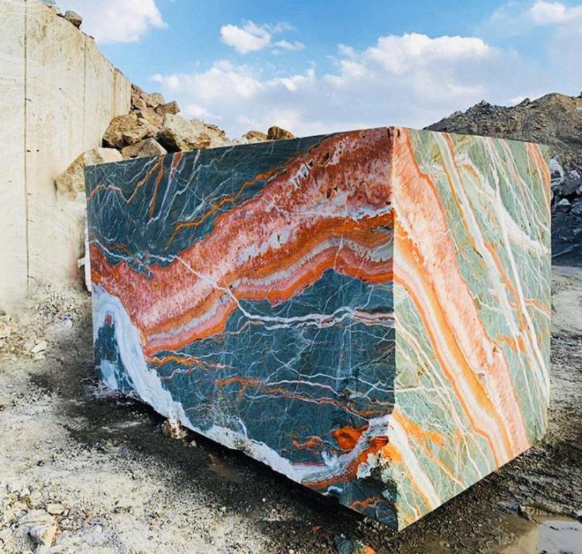 Multicolor Onyx Blocks