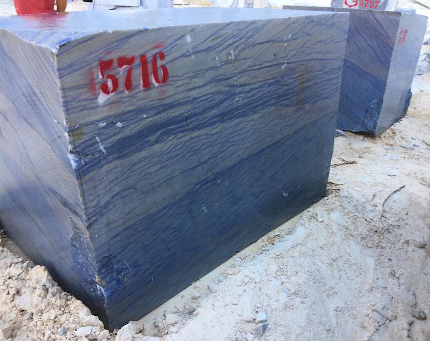 Azul Macaubas Quartzite Blocks