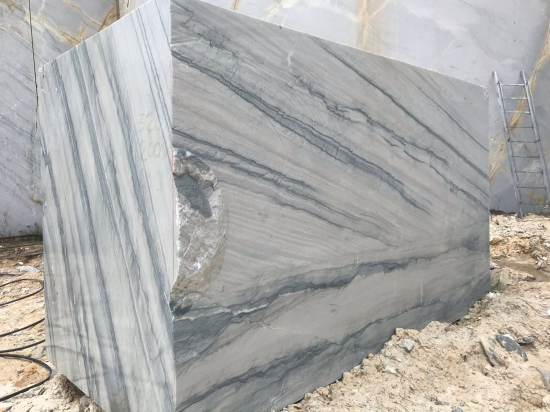 Calacatta Botticelli Quartzite Blocks