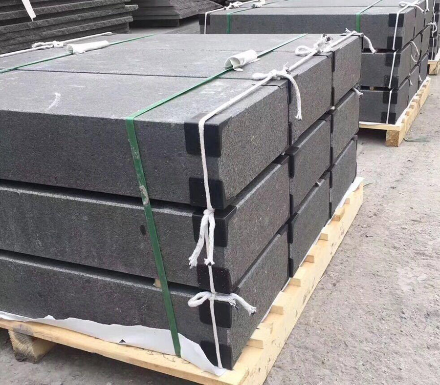 G684 Granite Block Step Stone