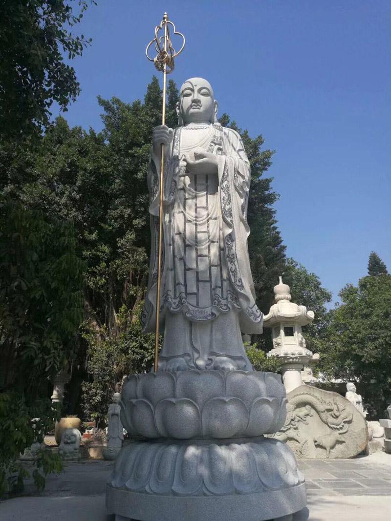 Large Granite Buddha Statue