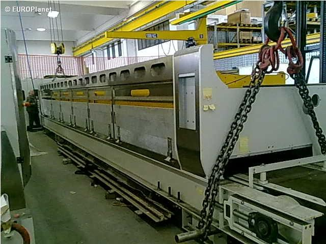 polishing machine for granite strips