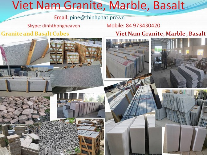 Viet Nam Granite Marble Basalt