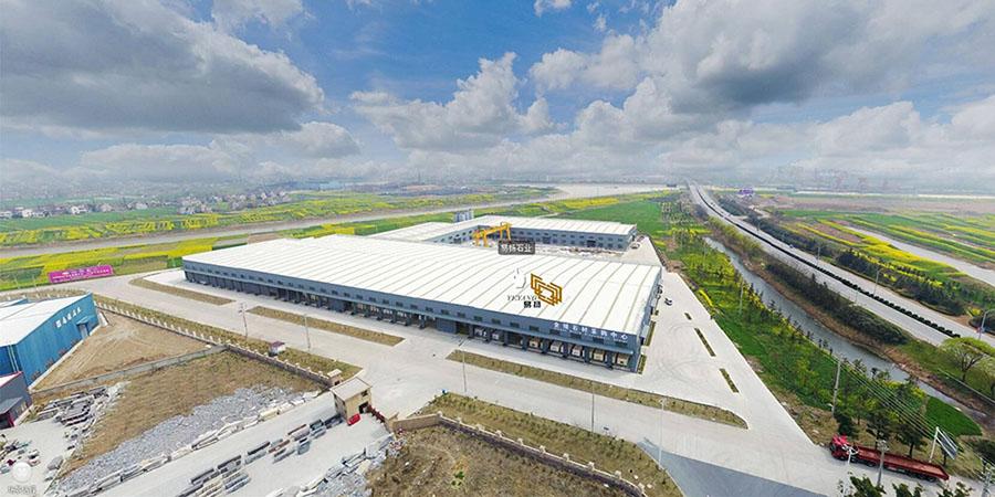 Yeyang Marble Factory Aerial View