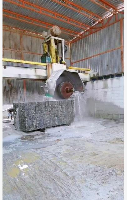 Stone processing plant