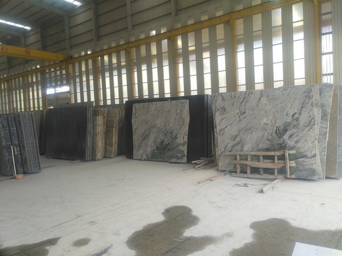 big slab factory yard