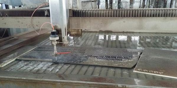 Waterjet Engraving Machine