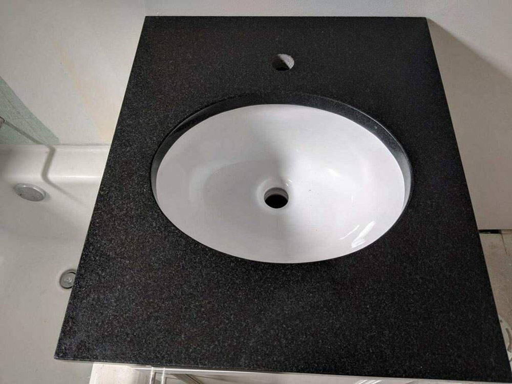 Black Absolute Granite Countertops