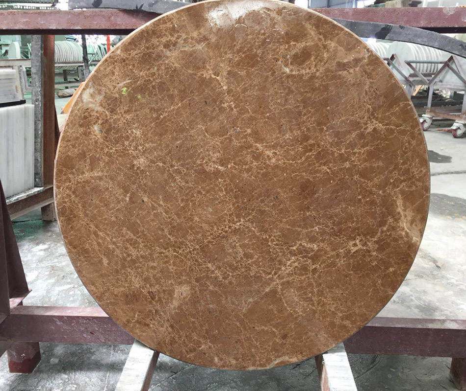 Brown Marble Round Table Tops, Marble Round Table Top