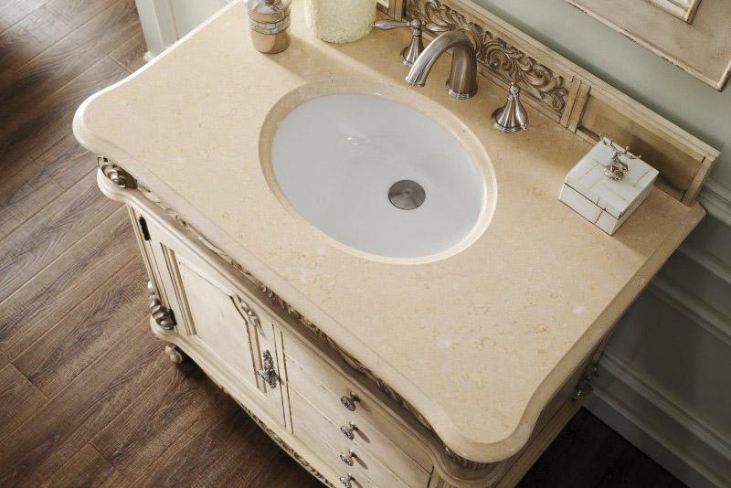 Galala Beige Marble Vanity Tops Bathroom Countertops